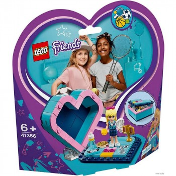 Конструктор LEGO Friends Шкатулка-сердечко Стефани 41356