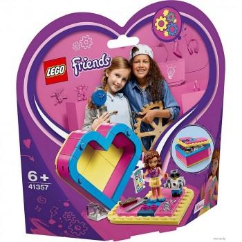 LEGO Friends Шкатулка-сердечко Оливии 41357