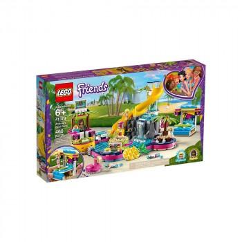 LEGO Friends Вечеринка Андреа у бассейна 41374