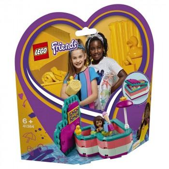 LEGO Friends Летняя шкатулка-сердечко для Андреа 41384