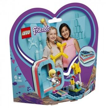 LEGO Friends Летняя шкатулка-сердечко для Стефани 41386