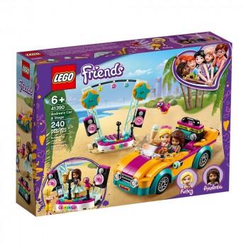 Конструктор LEGO Friends Машина со сценой Андреа 41390