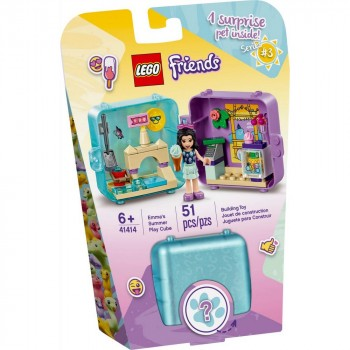 Конструктор LEGO Friends Летняя игровая шкатулка Эммы 41414