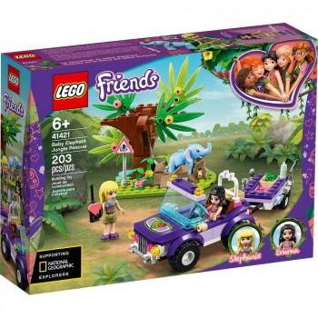 Конструктор LEGO Friends Джунгли Спасение слонёнка 41421