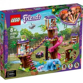 Конструктор LEGO Friends Джунгли Штаб спасателей 41424