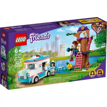 Конструктор LEGO Friends Машина скорой ветеринарной помощи 41445