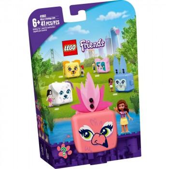 Конструктор LEGO Friends Кьюб Оливии с фламинго 41662