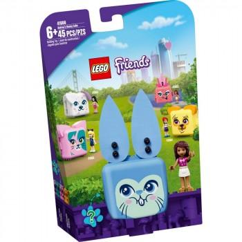 Конструктор LEGO Friends Кьюб Андреа с кроликом 41666