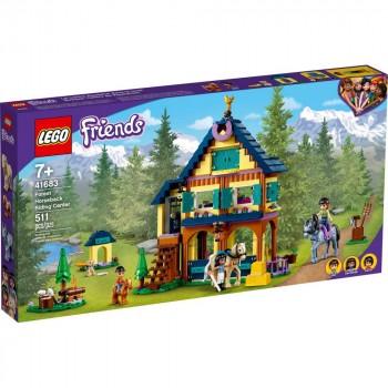 Конструктор LEGO Friends Лесной клуб верховой езды 41683