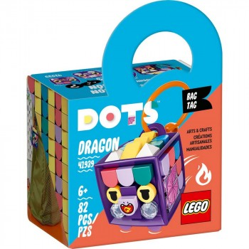 Конструктор LEGO DOTS Брелок «Дракон» 41939