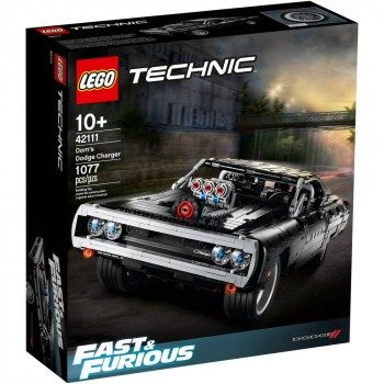 Конструктор LEGO Technic Dodge Charger Доминика Торетто 42111