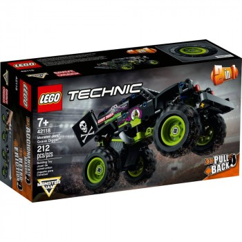 Конструктор LEGO Technic Monster Jam  Grave Digger 42118