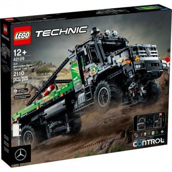 Конструктор LEGO Technic Полноприводный грузовик-внедорожник Mercedes-Benz Zetros 42129