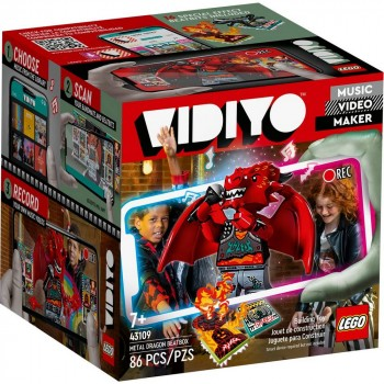 Конструктор LEGO VIDIYO Metal Dragon BeatBox Битбокс Дракона-Металлиста 43109