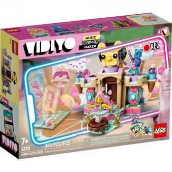 Конструктор LEGO VIDIYO Candy Castle Stage (Сцена карамельного замка) 43111