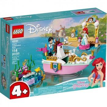 Конструктор LEGO Disney Princess Праздничный корабль Ариэль 43191