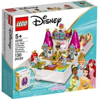 Конструктор LEGO Disney Princess Книга сказочныхприключенийАриэль, Белль, Золушки и Тианы 43193