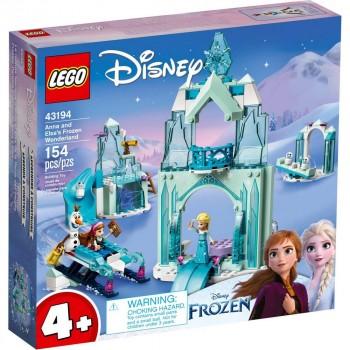 Конструктор LEGO Disney Princess Зимняя сказка Анны и Эльзы 43194