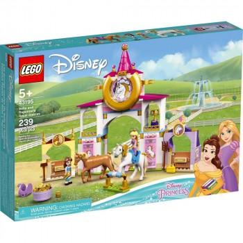 Конструктор LEGO Disney Princess Королевская конюшня Белль и Рапунцель 43195