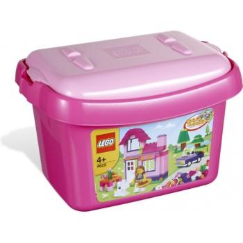 LEGO Bricks & More Розовая коробка с кубиками