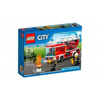 LEGO City Fire Пожарный автомобиль с лестницей 60107