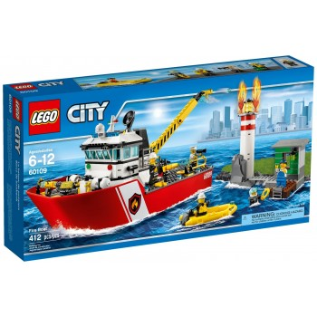 LEGO City Fire Пожарный катер 60109