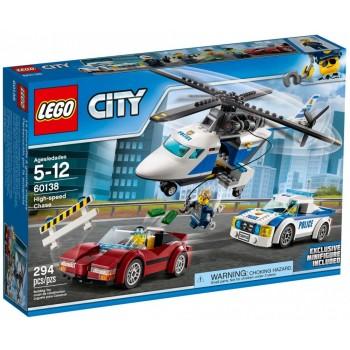 Конструктор LEGO City  Стремительная погоня 60138