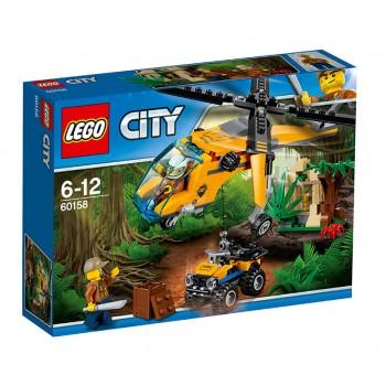 LEGO City  Грузовой вертолёт исследователей джунглей 60158
