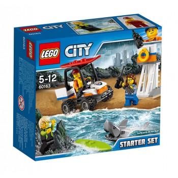 LEGO City  Набор для начинающих «Береговая охрана» 60163