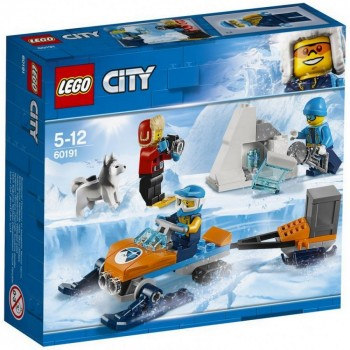 LEGO City Полярные исследователи 60191