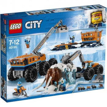 LEGO City Передвижная арктическая база 60195