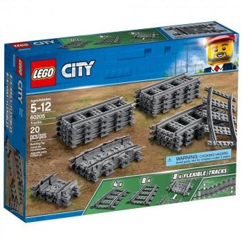 Конструктор LEGO City Рельсы 60205