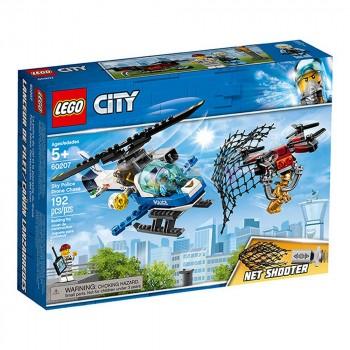 LEGO City Воздушная полиция: погоня дронов 60207