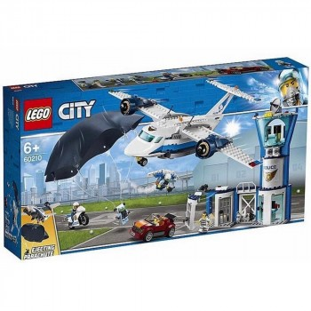 LEGO City Воздушная полиция: авиабаза 60210