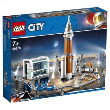 LEGO City Космическая ракета и пункт управления запуском 60228