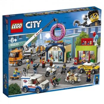 LEGO City Открытие магазина по продаже пончиков 60233