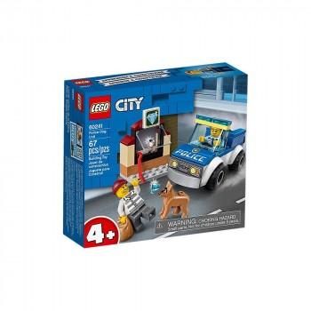 LEGO City Полицейский отряд с собакой 60241