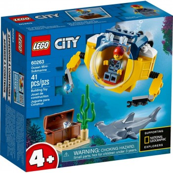 LEGO City Океан: мини-субмарина 60263