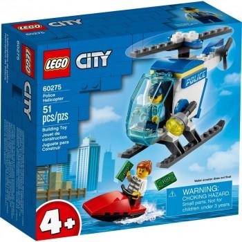 Конструктор LEGO City Полицейский вертолёт 60275