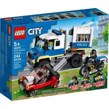 Конструктор LEGO City Транспорт для перевозки преступников 60276