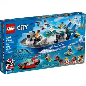 Конструктор LEGO City Катер полицейского патруля 60277