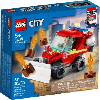 Конструктор LEGO City Fire Пожарный автомобиль 60279