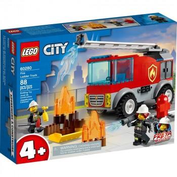 Конструктор LEGO City Fire Пожарная машина с лестницей 60280