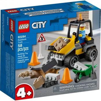Конструктор LEGO City Автомобиль для дорожных работ 60284