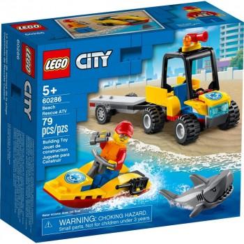 Конструктор LEGO City Пляжный спасательный вездеход 60286