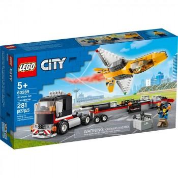 Конструктор LEGO City Транспортировка самолёта на авиашоу 60289
