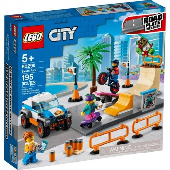 Конструктор LEGO City Скейт-парк 60290