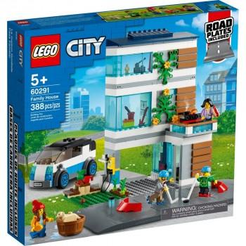Конструктор LEGO City Современный дом для семьи 60291