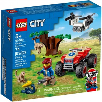 Конструктор LEGO City Спасательный вездеход для зверей 60300