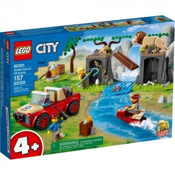 Конструктор LEGO City Спасательный внедорожник для зверей 60301